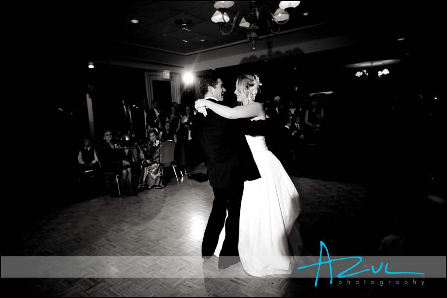 The first dance is a tradition which all wedding couples perform.