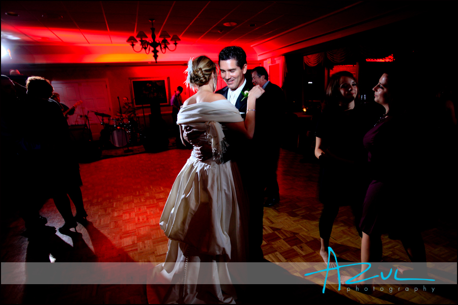 The last time the groom dances with his bride on the wedding night.